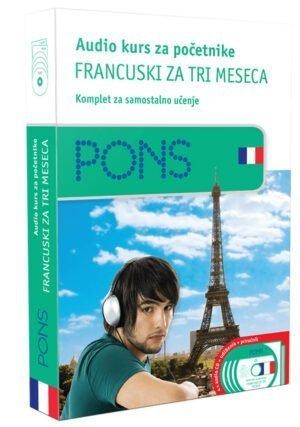 Audio kurs početni, naučite francuski za tri meseca