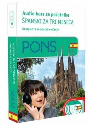 Audio kurs početni, španski za tri meseca