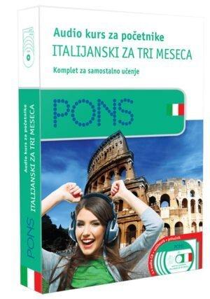 Audio kurs za početnike, italijanski za tri meseca