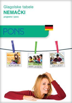 Glagolske tabele za učenje nemačkog jezika