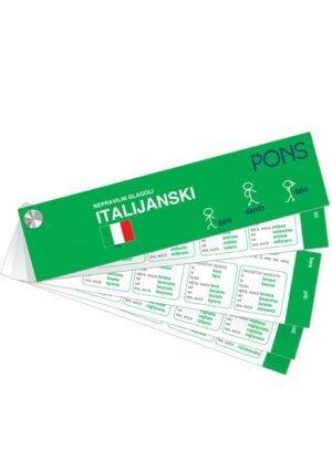 Nepravilni glagoli za učenje italijanskog jezika